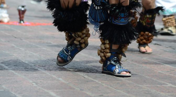Danza de los Concheros Fiestas de la Cruz 2019
