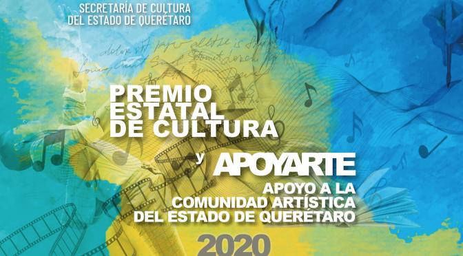 Lanzan convocatoria para el premio Estatal de Cultura y APOYARTE