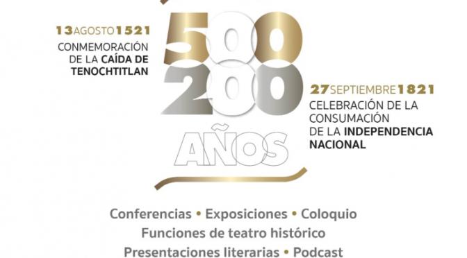 Programa conmemorativo de Tenochtitlan y de la Independencia