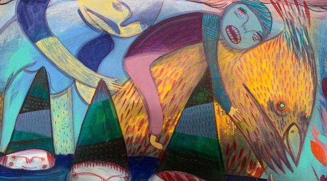 """Detalles Exposición """"Mundo Feliz"""""""